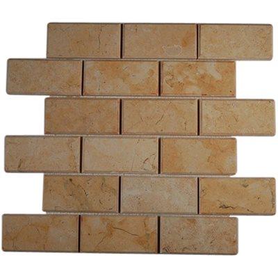 Close Out - Jerusalem Gold 2x4 Beveled Brick