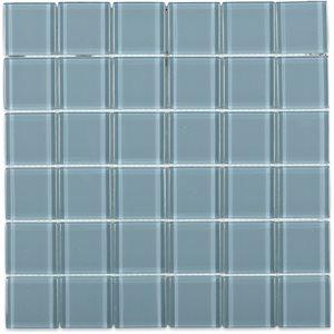 Crystal Blue-Gray 2x2 Polished