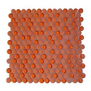Close Out - Crystal Burnt Orange Circles