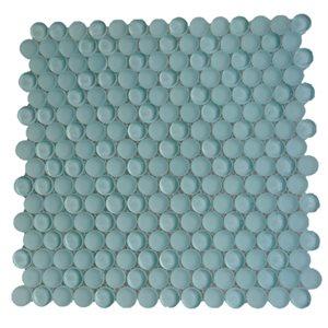 Crystal Ice Mint Circles