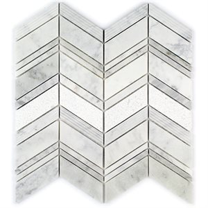 Field Stone White Carrara