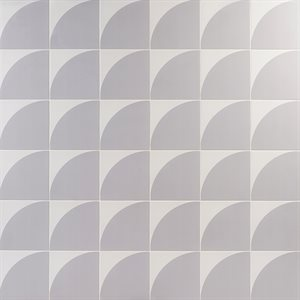 Stacy Garcia Maddox Deco Floor Cool Gray 8x8