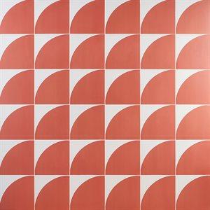 Stacy Garcia Maddox Deco Floor Coral 8x8