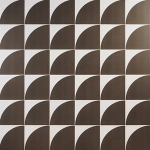 Stacy Garcia Maddox Deco Floor Warm Gray8x8