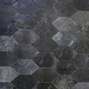 Bonjour Hexagon Magma 7x13