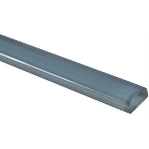 Glass Pencil Blue Gray Polished