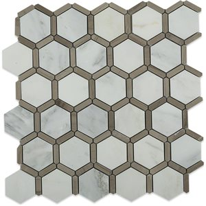 Honeycomb Asian Statuary & Athens Grey