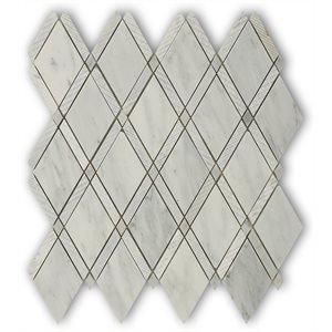 Majestic Textured White Carrara