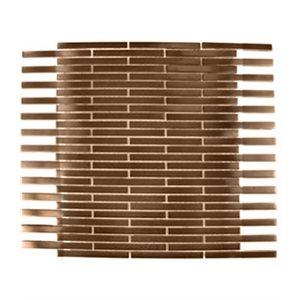 Metal Copper Matte 3 / 8x4 Brick