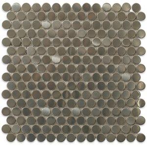 Metal Stainless Steel 3 / 4 Circles