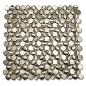 Metal Stainless Concavo Circles