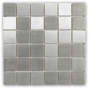 Metal Stainless 2x2 Squares
