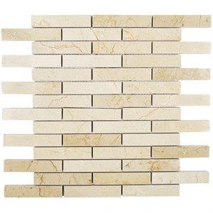 Close Out - Crema Marfil Piano Brick
