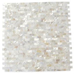 Pearl Seamless Bricks White