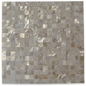 Pearl Seamless Squares White