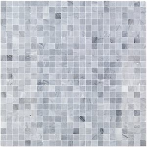 "Burlington Gray 1 / 2"" Groutless Squares"