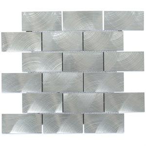 Aluminum 2x4 Silver