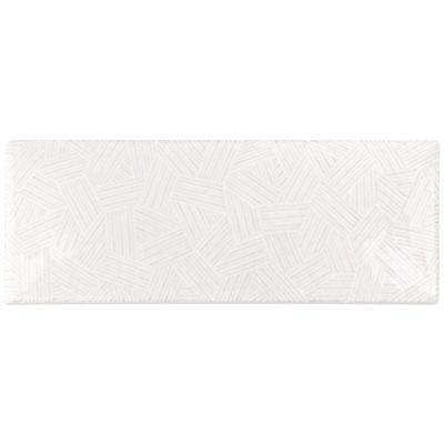 Deviation 3x8 Blanco Textured Mix