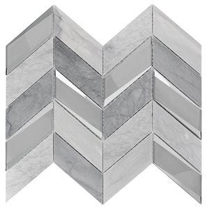 Giazza Dove - Burlington Gray and Glass