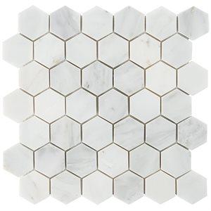 "Asian Statuary 2"" Hexagon"