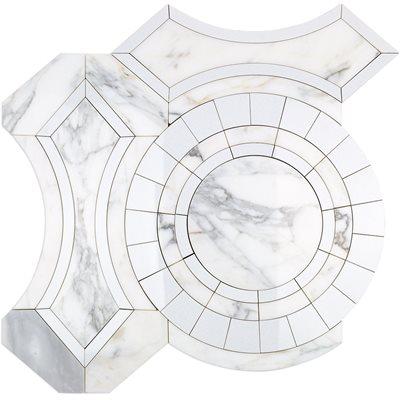 MJ Colesseo - Calacutta Gold & Crystallized Porcelain