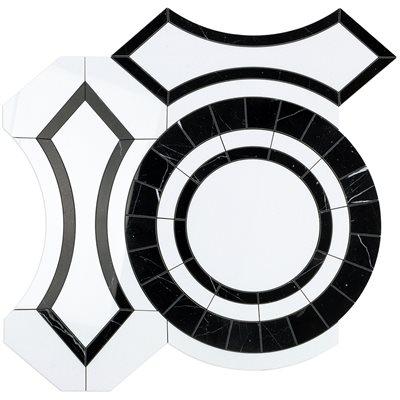 MJ Colesseo - Crystallized Porcelain & Black Jade
