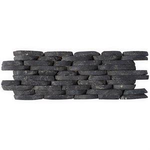 Pebblestone Alor Black Stacked Sliced Natural Stone