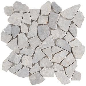Pebblestone Prambanan Grey Tumbled Natural Stone