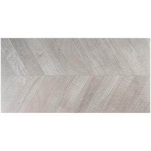 Elan Chevron Grey 24x48