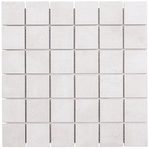 Runway Blanc 2x2 Mosaic Matte