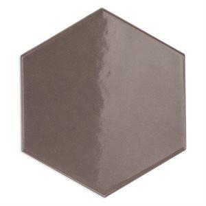 Hexagono - Liso Nude Brillo