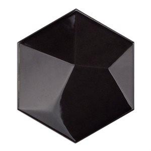 Hexagono - Piramidal Grafito Brillo