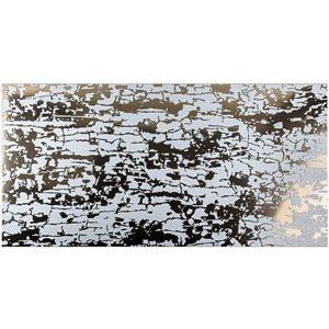 Art Abstract Bianco 24x48