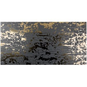 Art Abstract Nero 24x48