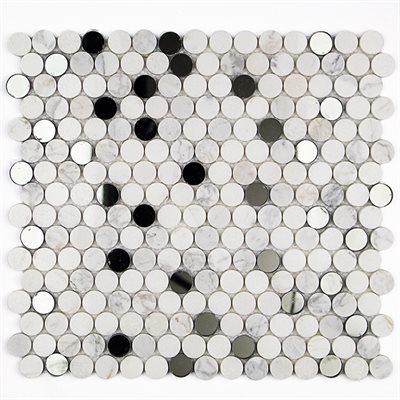 Vision Circles Carrara & Thassos with Mirror