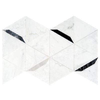 Wunder Grigio - White Cararra  with Wood Black, Nero, Burlington Gray, Bardiglio