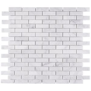 White Carrara 1 / 2x2 Brick