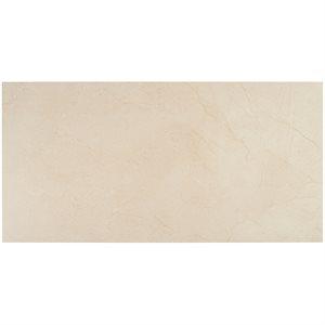 Everyday Marble Crema Marfil Satin 12x24