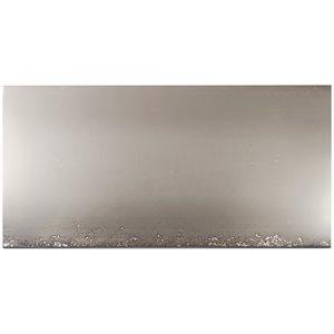 Cauldron Mist Silver 18x36