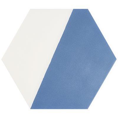 "Aries Divide Azul 8"" Hex"