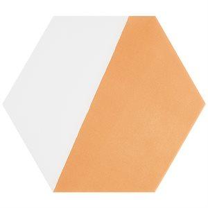 "Aries Divide Orange 8"" Hex"