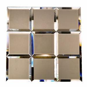 Mirror Bronze 4x4 Beveled