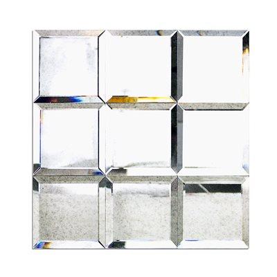 Mirror Antique 4x4 Beveled