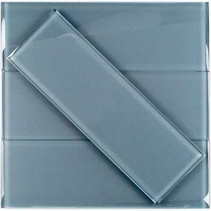 Crystal Blue-Gray 4x12 Polished