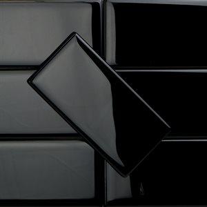 Crystal Black 3x6 Polished