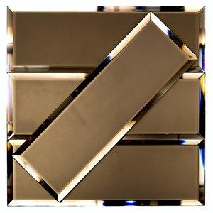 Mirror Bronze 4x12 Beveled