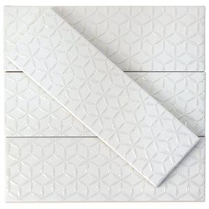 Soho Spring White Matte 3x9
