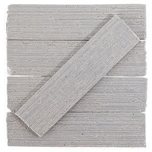 Urban Brick Stroke - Gray Polished