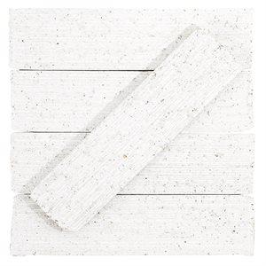Urban Brick Stroke - Matte White