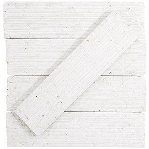 Urban Brick Stroke - White Polished